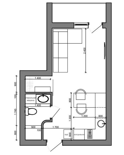 продажа однокомнатной квартиры номер A-157805 в Приморском районе, фото номер 30